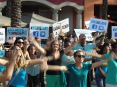 Flash Mob 2015 Dancing 1