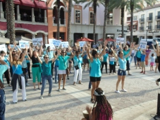 Flash Mob 2015 Dancing 3