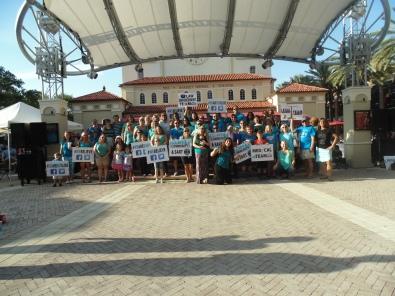 Flash Mob 2015 Group pic