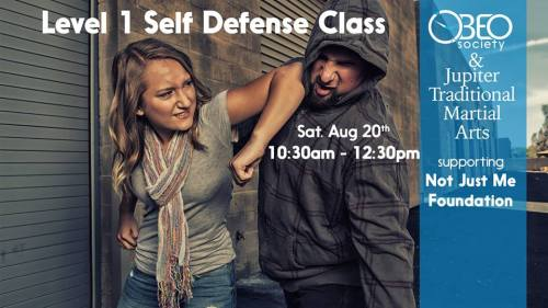 self defense class 2016
